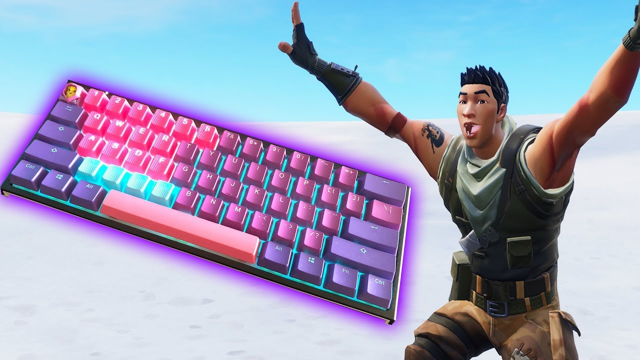 This Is The Best Keyboard To Use To Play Fortnite Tfue S Keyboard