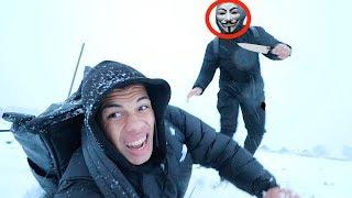 GAME MASTER JAGT UNS IM SCHNEE STURM !!! | PrankBrosTV