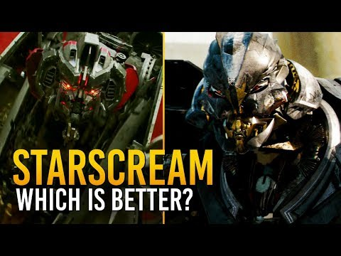 Transformers: Which Version Of Starscream Is Better? 🤔