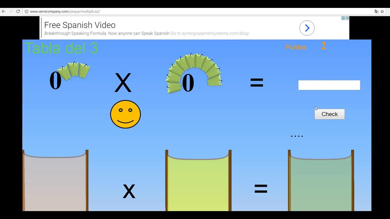 Como Aprender Las Tablas De Multiplicar Jugando Youtube