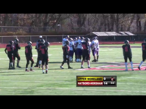 Football: The 86th Thanksgiving meeting between Hatboro-Horsham and Upper Moreland high schools
