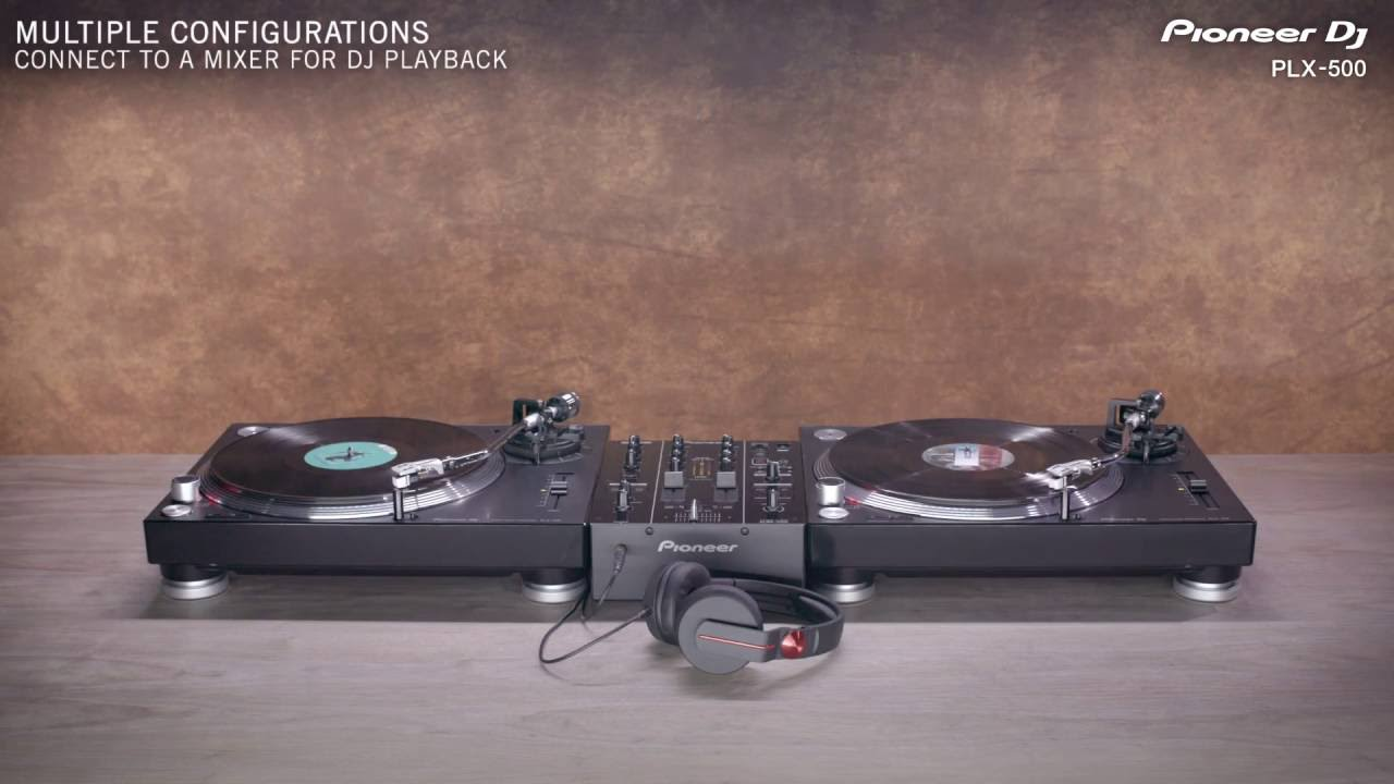 Pioneer DJ PLX-500 Official Introduction - YouTube