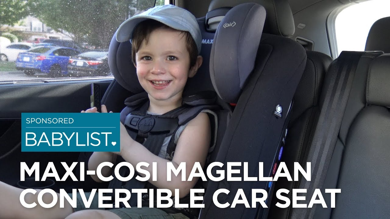Maxi-Cosi Magellan MAX 5-in-1 All-In-One Convertible Car Seat Nomad Sand New!