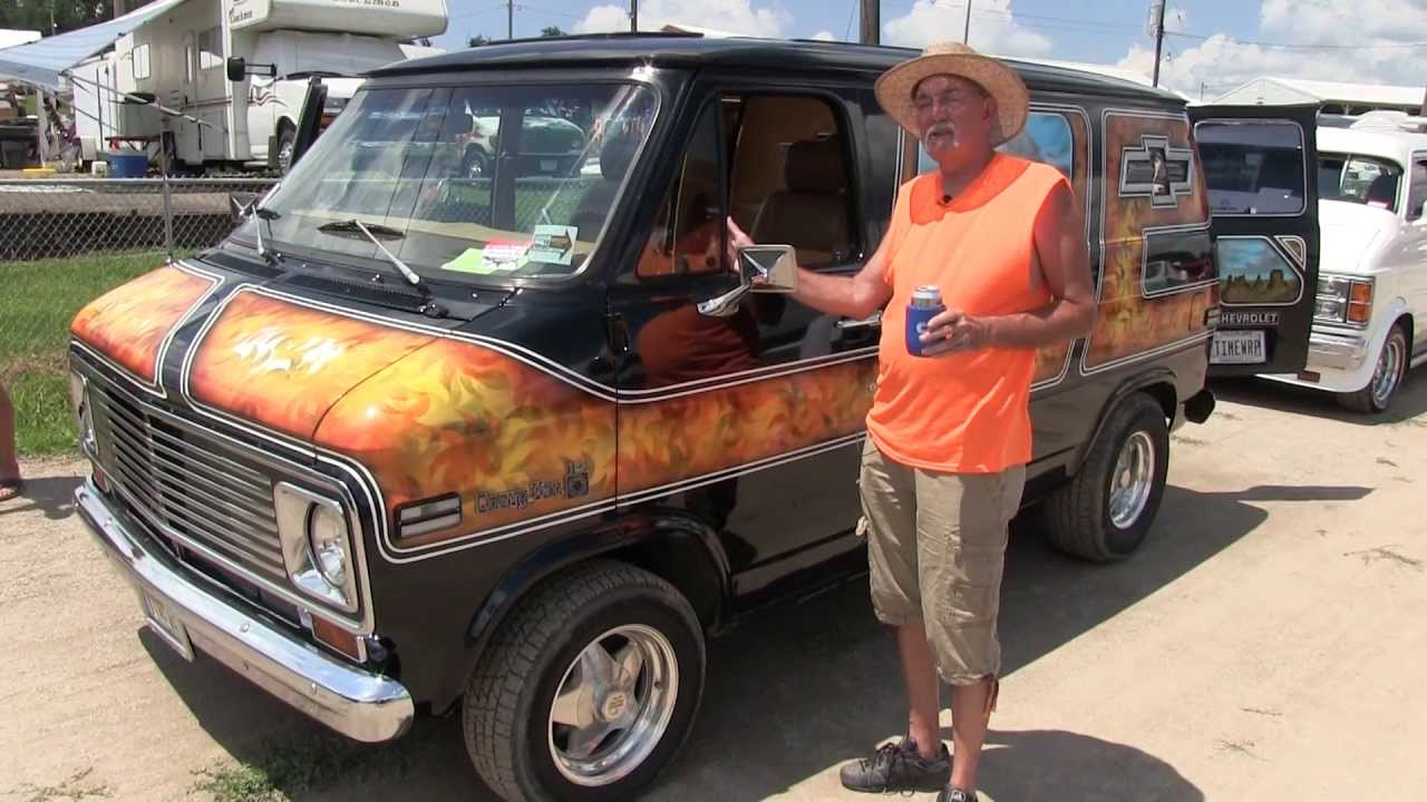 Time Warp, Custom 1977 Chevy Van