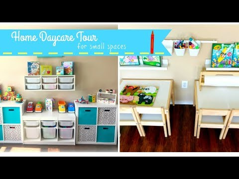 HOME DAYCARE TOUR | SMALL SPACE | DAYCARE PROVIDER