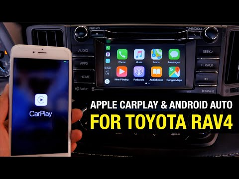 2013-2018 Toyota RAV4 Apple CarPlay & Android Auto Plug & Play Installation Video