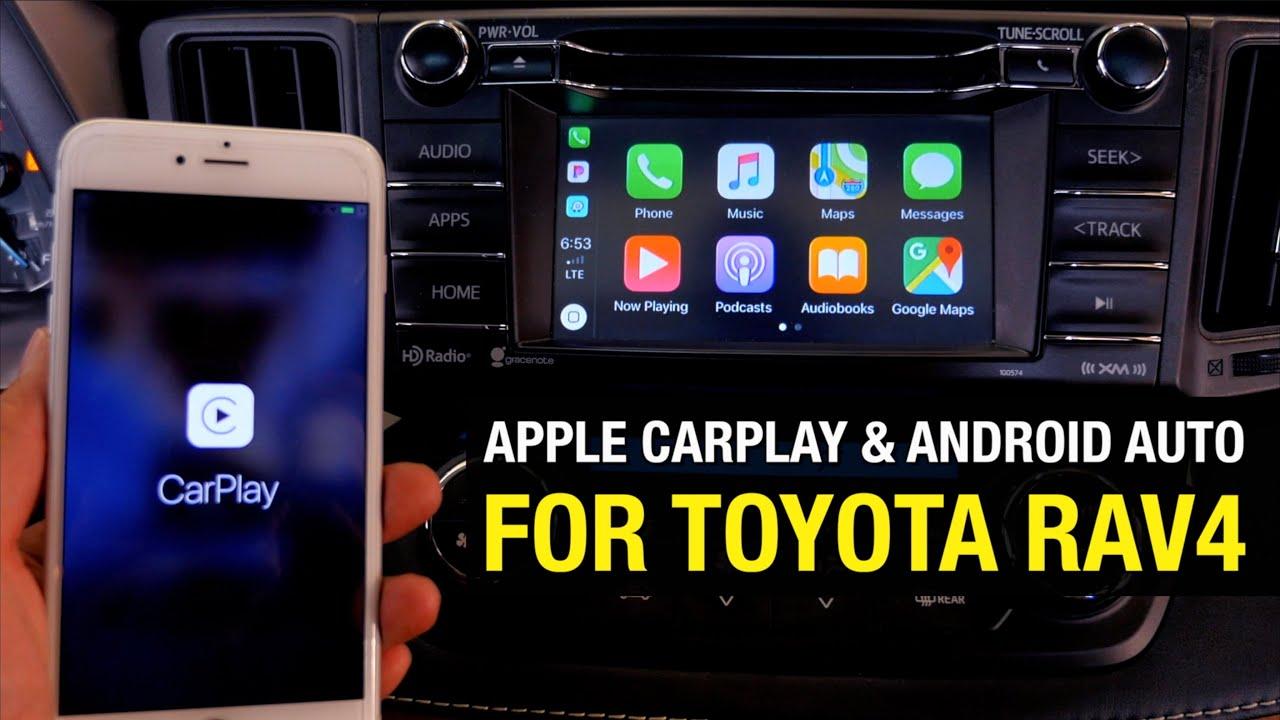 2013 2018 Toyota Rav4 Apple Carplay Android Auto Plug Play