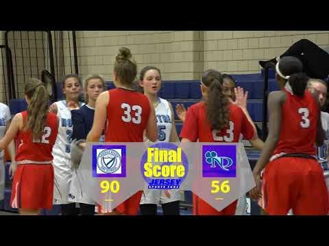 No. 8 Saddle River Day School 90 No. 13 Notre Dame 56 Girls Basketball highlights
