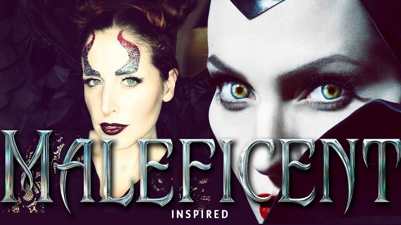 Tutorial Trucco Maleficent Inspired Halloween 2014 Youtube