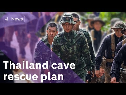 Thailand cave rescue: how to get them out?
