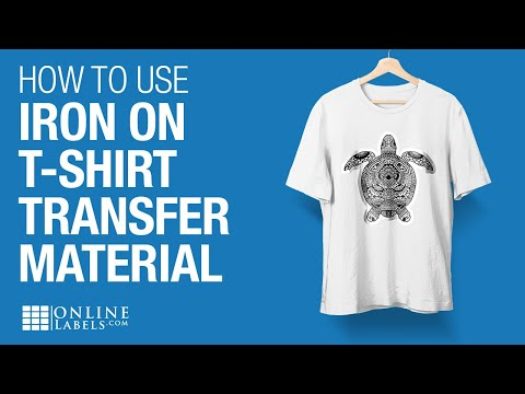 Transfer Paper T Shirt Transfer Paper Material Iron On