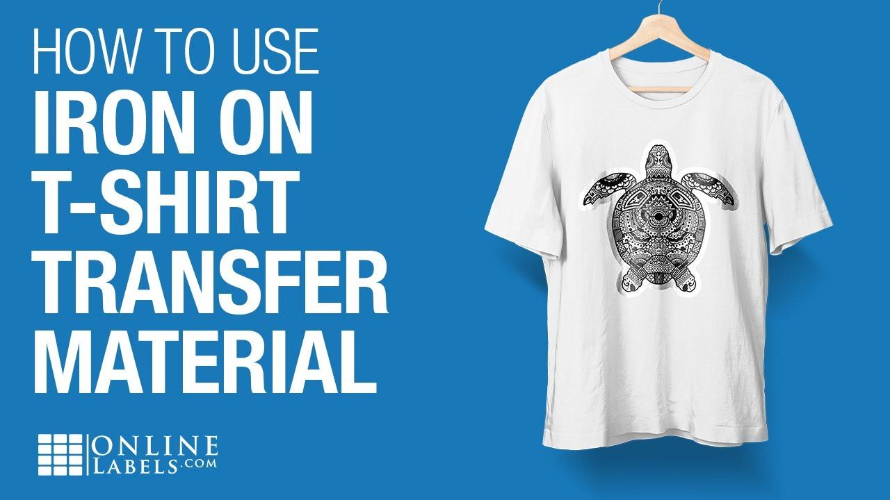 20 of each Light and Dark Phoenix T-Shirt Transfer Paper