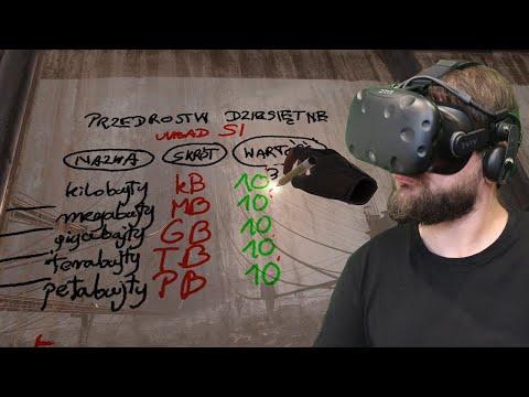 Lekcja Informatyki W VR W Half-Life: Alyx (HTC VIVE VR)
