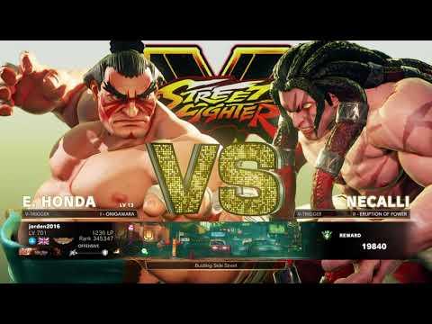 STREET FIGHTER V E.Honda Arcade (SF5)