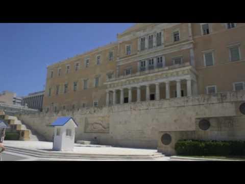 Dave and Caden's Excellent European Adventure:  Athens