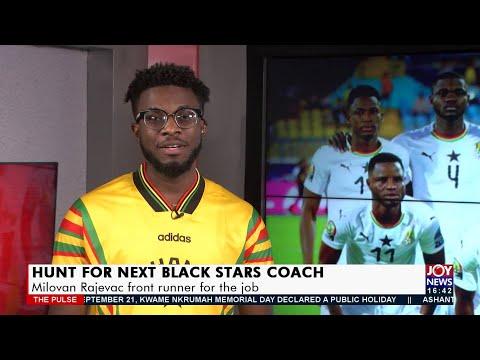 Hunt for next Black Stars Coach: Milovan Rajevac front runner for the job - Joy Sports (16-8-21)