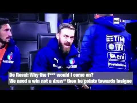Daniele De Rossi vs Sweden