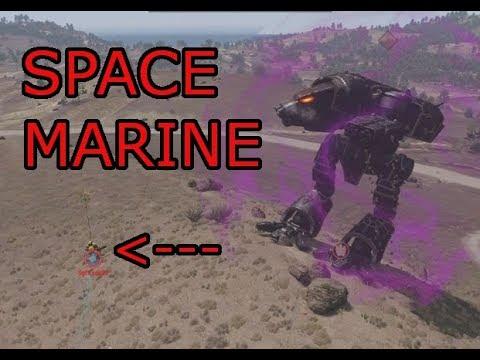 Warhound vs Space