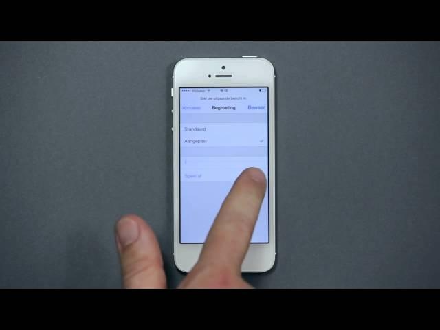 Hoe Visual Voicemail te activeren en gebruiken op iOS  - Mobistar