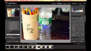 حساسيه المستشعر او الحساس للضوء ISO - ومعالجه الصور عن طريق اللايت روم