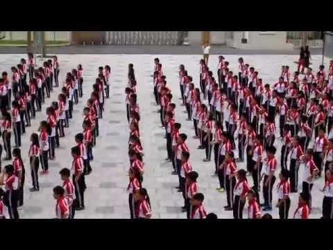 Thể dục giữa giờ - THCS Dịch Vọng Hậu - 27/10/2014