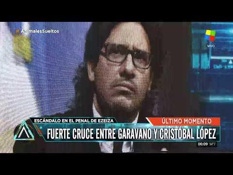 Fuerte cruce entre Garavano y Cristóbal López en el penal de Ezeiza