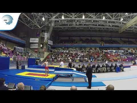 Diogo COSTA (POR) - 2016 Double Mini-Trampoline Europeans, final