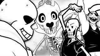 unexpected-guests-episode-1-undertale-comic-dub