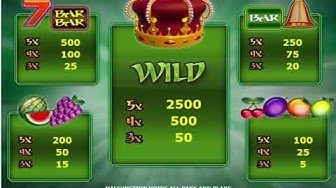 Kings Crown video slot - Review amatic online casino game