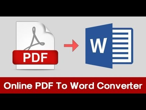 Best Online PDF To Word Converter 2018 from YouTube · Duration:  5 minutes 37 seconds