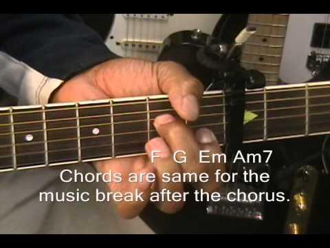 David Guetta Titanium Revised Guitar Lesson Fingerstyle Intro