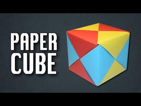 Paper Cube Origami