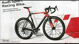 Audi Sport Racing Bike - Now available to buy!!