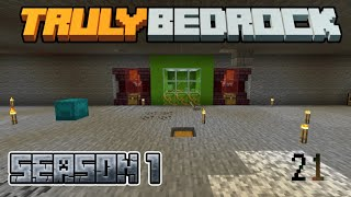 Truly Bedrock Episode 21: Builds, Redstone, and Shenanigans