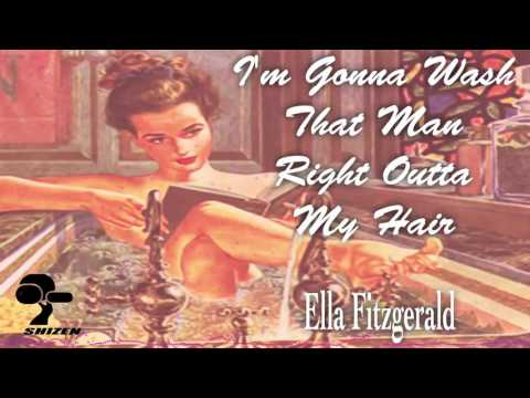 Ella Fitzgerald - I'm Gonna Wash That Man Right Outta My Hair [Drums by Danny Gottlieb]