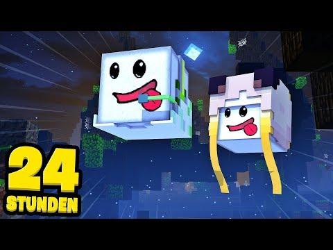 24 STUNDEN als MINECRAFT GEIST VERSTECKEN?! - Minecraft [Deutsch/HD]