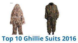 10 Best Ghillie Suits 2016