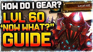 🔥Lv 60 NOW WHAT? What you NEED to do & Best way to Gear | Shadowlands Guide World of Warcraft