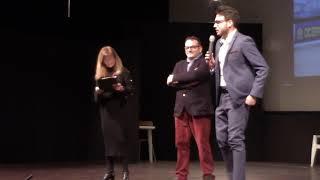 UN CALDO ABBRACCIO PER LETIZIA MINUTI - Monica Mariani introduce la serata