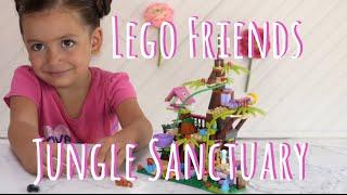 Lego Friends   Jungle Tree Sanctuary en Español ~ Santuario de la jungla