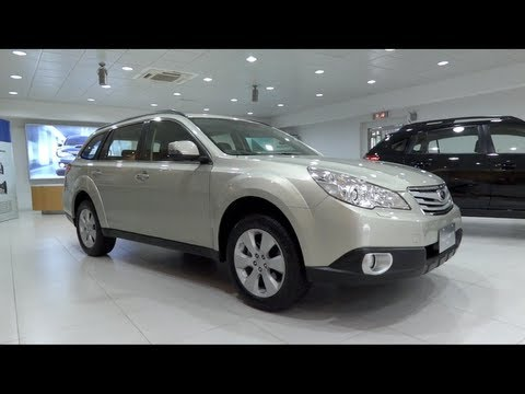 2012 Subaru Outback 2.5i AWD Start-Up and Full Vehicle Tour