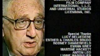Henry Kissinger has never seen Andy Kaufman on Cheers.  Cheers???