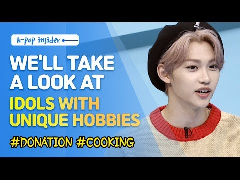 Pops in Seoul K-pop Idols with Unique Hobbies  feat Felix