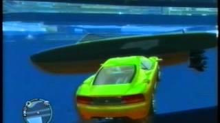 gta 4 driving cars underwater