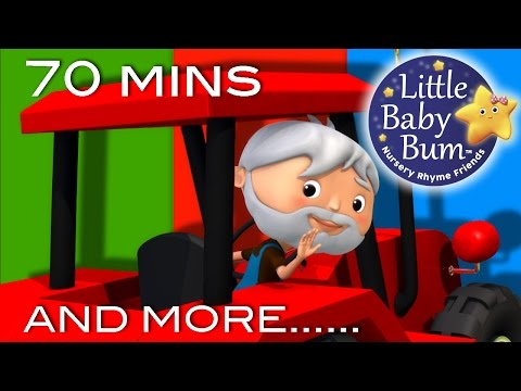 Farmer In The Dell | And More Nursery Rhymes | 70 Minutes Compilation from LittleBabyBum!