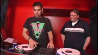 DJ AM shows me his famous Wonderwall mix.