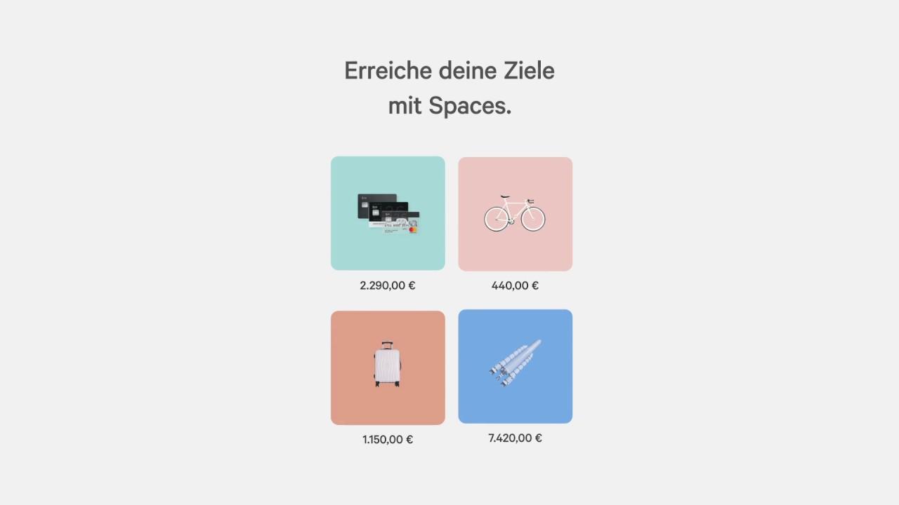N26 Spaces - Erreiche deine Ziele mit unseren Unterkonten - YouTube