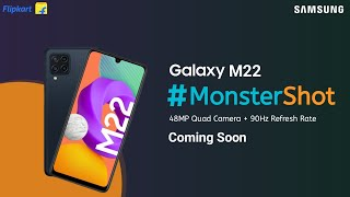 SAMSUNG Galaxy M22 - Official Launch   Full Specifications   Price in india