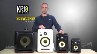 Jands Presents: KRK subwoofer