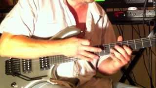 """Zeal Mercury Guitar, Axe FX II, Van Halen """"Unchained"""""""